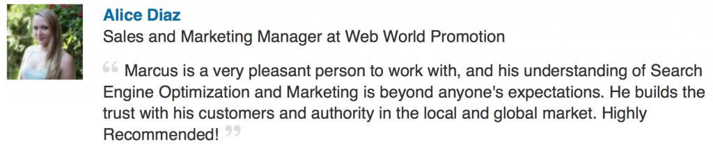 Abbildung einer Internet Firma